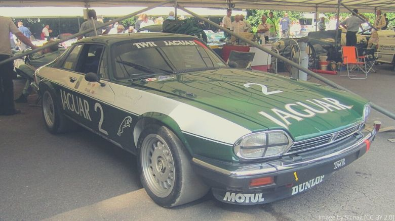 A Tom Walkinshaw Racing Jaguar XJS