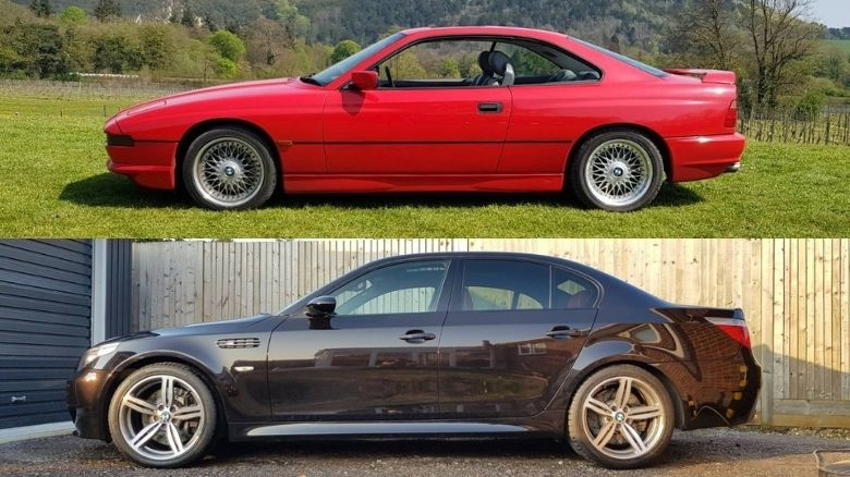 BMW 840 and BMW M5