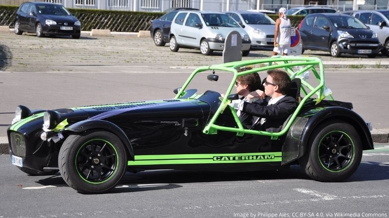 Caterham on the road