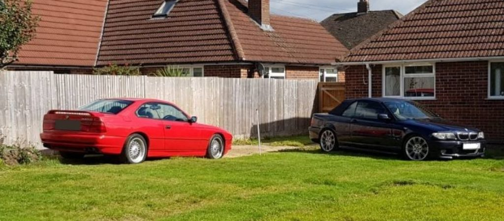 Owning a classic car without a garage